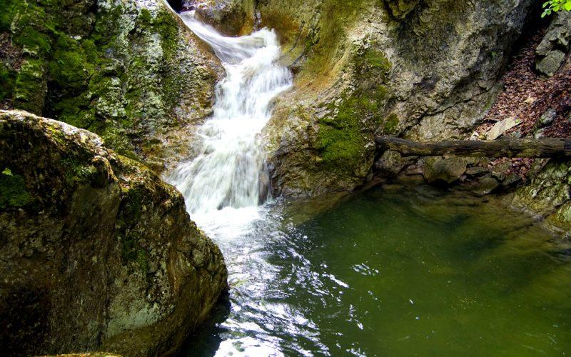 Малы каньон Крыма