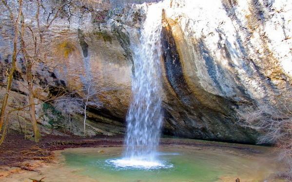 Водопад Козырек Крым