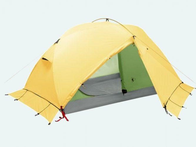 Палатка с юбкой - лучший вариант