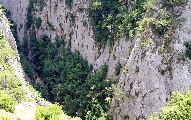 Большой каньон вид сверху