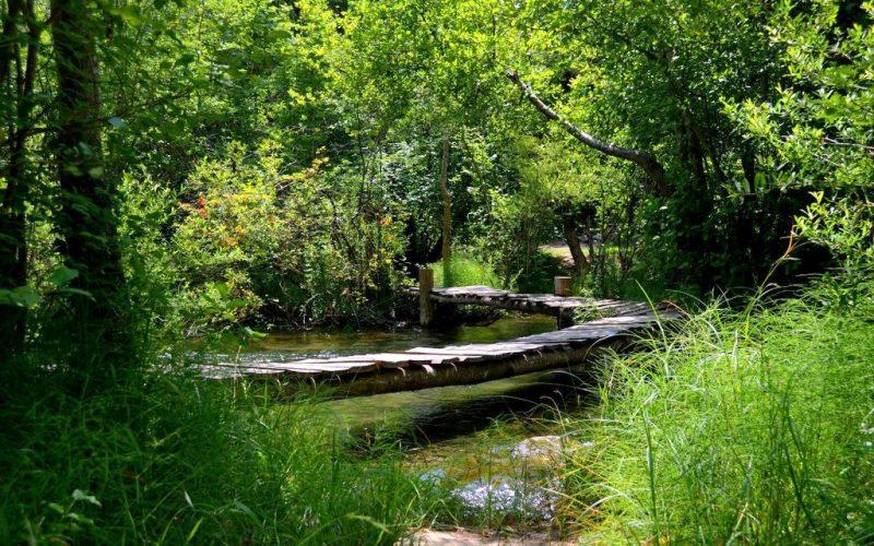 Чернореченский каньон - переправа