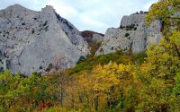 Чертова лестница - Крым