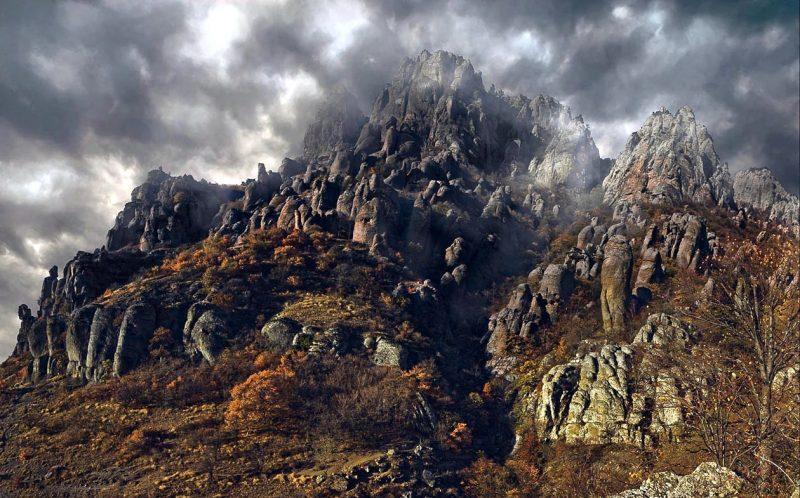 Крым - Долина приведений