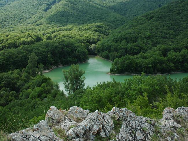 Озеро Ворон Крым