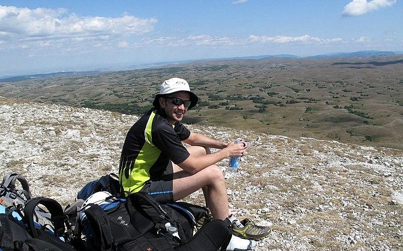 Вид на каменное море Караби