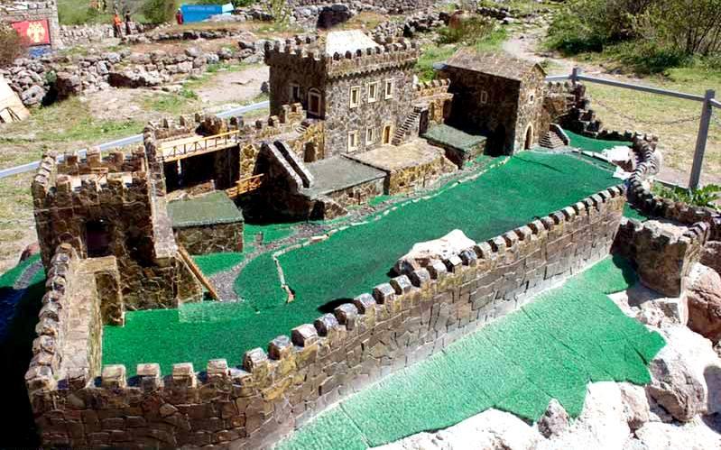 Макет-реконструкция крепости Фуна