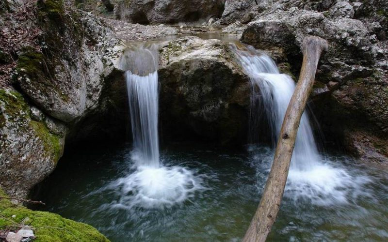 Водопады Кучук-Карасу