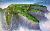 План пещерного города Мангуп