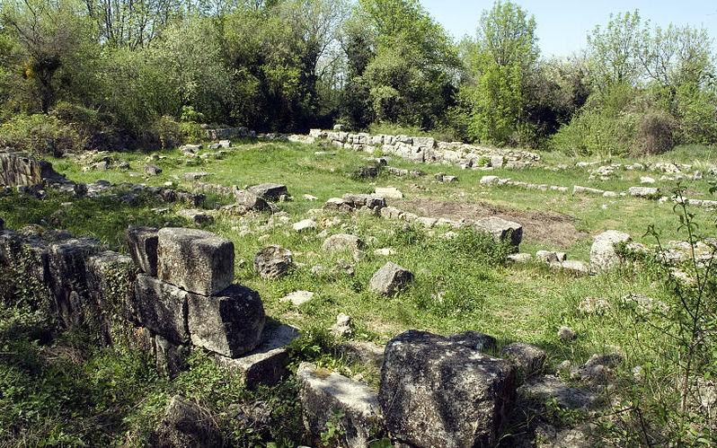 Большая базилика - раскоп