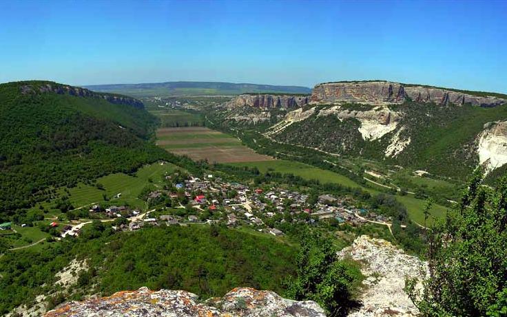 Вид с Сюйреньской крепости