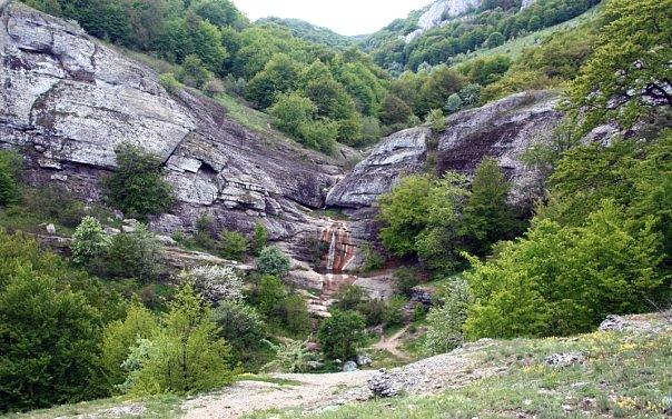 Урочище Джурла - Водопад
