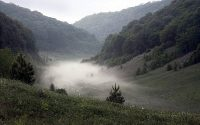 Долина ниже перевала Восточный Суат