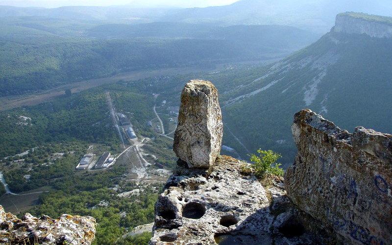 Панорама с Тепе-Кермен