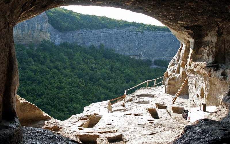 Вид с монастыря