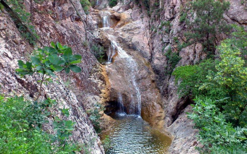 Перекаты в каньоне Узунджа