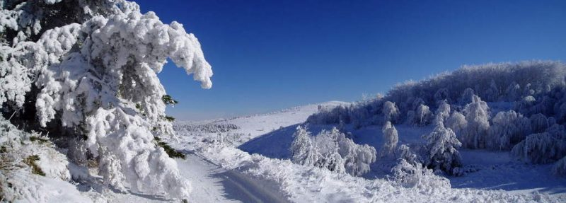 Зимнее плато
