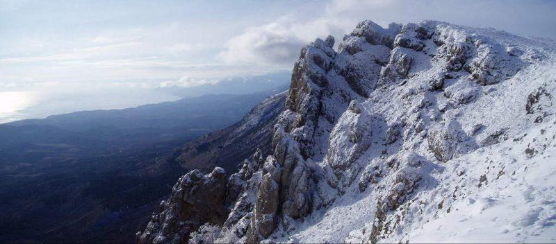 Южные отроги зимней Караби