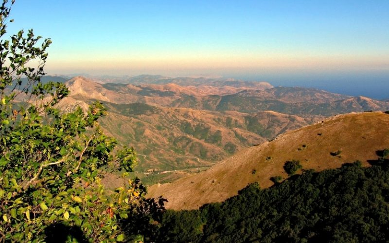 Вид с горы Шуври
