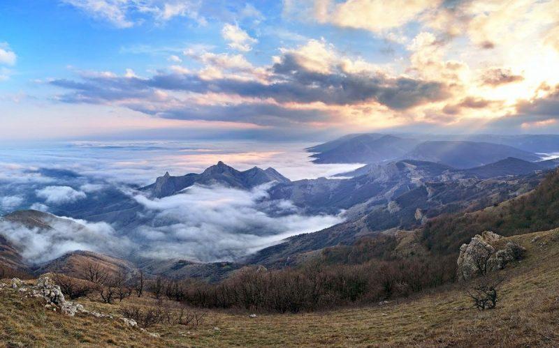 Вид с горы Сори