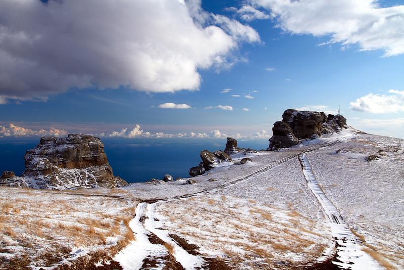 Южная Демерджи зимой