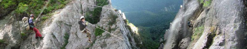 Экстрим маршрут по горному Крыму