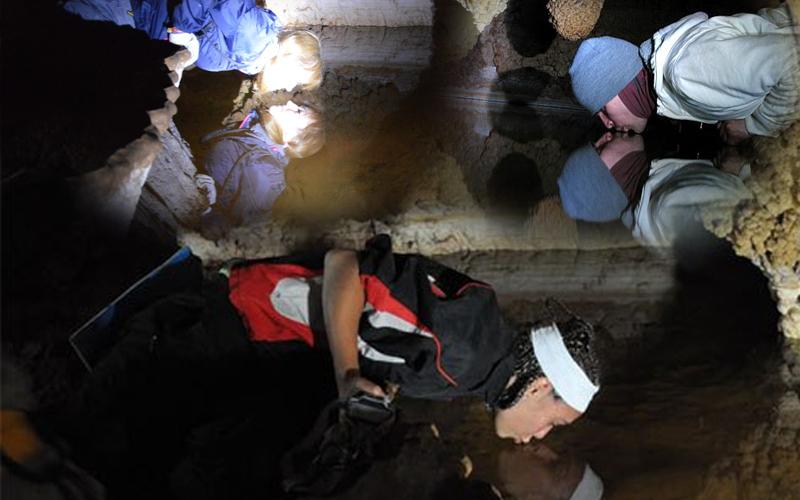 Поцелуй в пещере Крубера