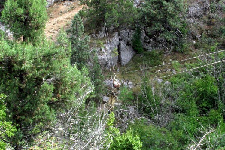 переправа над каньоном