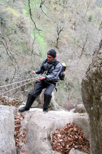 каньонинг по веревкам