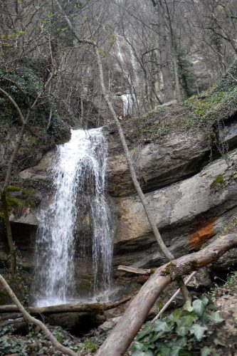 чистейший водопад