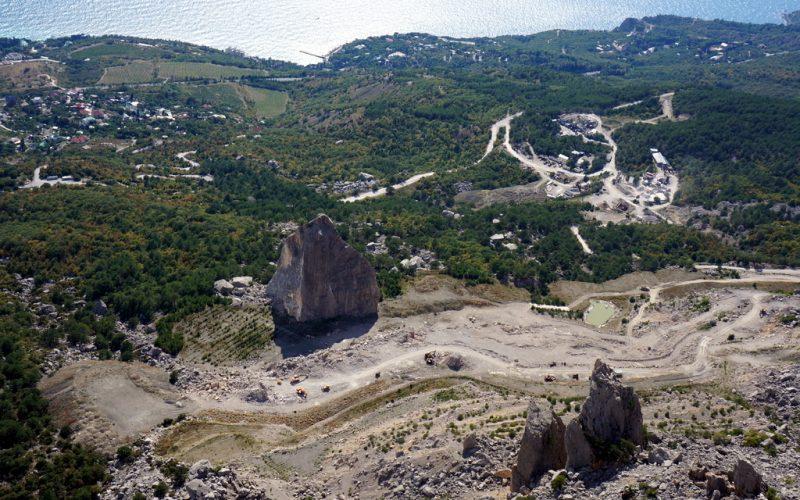 Вид на с горы Морчека