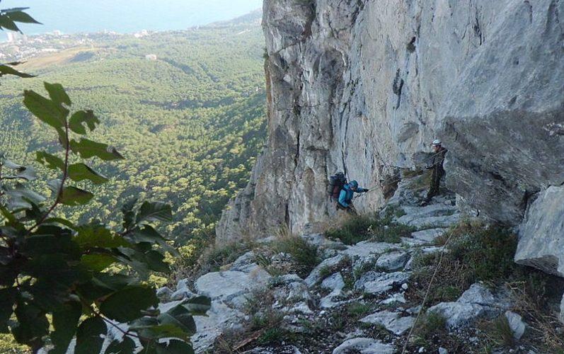спуск с горы1