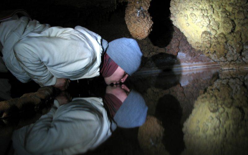 Поцелуй в пещере